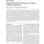 thumbnail of Operationalizing Protection of Civilians in NATO Operations