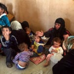 IDPs from Hawija in Debaga camp
