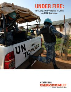 thumbnail of CIVIC – Juba Violence Report – October 2016
