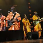 "Grammy-nominated Malian musicians, Amadou & Mariam, perform at the 2013 Nansen Refugee Award ceremony. ""So many families have suffered because of violence in DR Congo and it was an honour to perform for someone who has helped so many vulnerable women and girls. A great evening."" - Amadou & Mariam UNHCR / M. Henley"