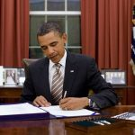 President Obama signs an executive order
